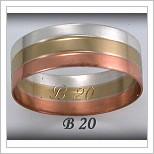 Snubní prsteny LSP B20