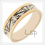 Snubní prsteny LSP B44
