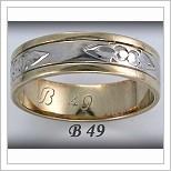 Snubní prsteny LSP B49