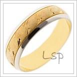 Snubní prsteny LSP B54