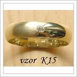 Snubní prsteny LSP K15