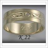 Snubní prsteny LSP K22