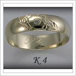 Snubní prsteny LSP K4