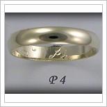 Snubní prsteny LSP P4