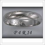 Snubní prsteny LSP P4R14B
