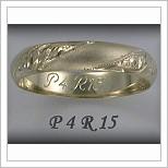 Snubní prsteny LSP P4R15