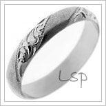 Snubní prsteny LSP P4R15B
