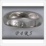 Snubní prsteny LSP P4R5B