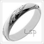 Snubní prsteny LSP P4R9B