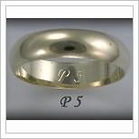 Snubní prsteny LSP P5