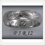 Snubní prsteny LSP P5R12B