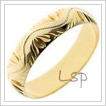Snubní prsteny LSP P5R4