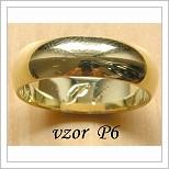 Snubní prsteny LSP P6