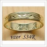 Snubní prsteny LSP S34R