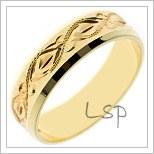 Snubní prsteny LSP S47R